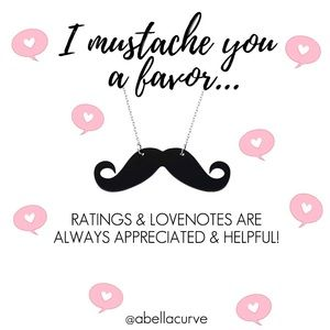 Other - I mustache you a favor..